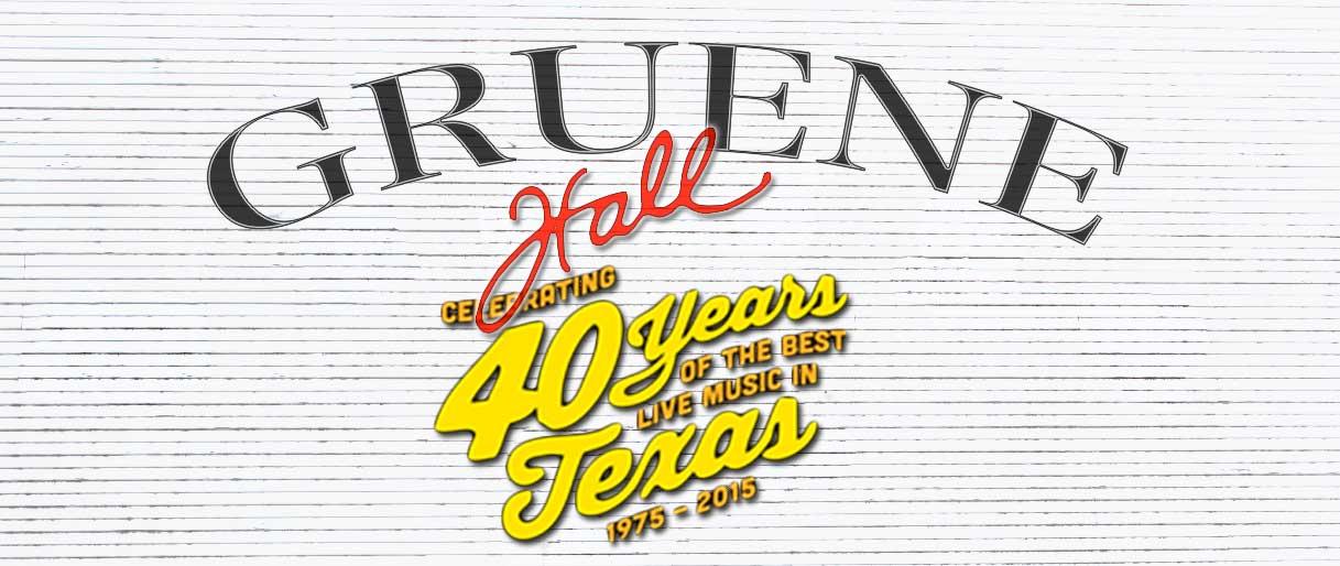 Gruene Hall 40 Years